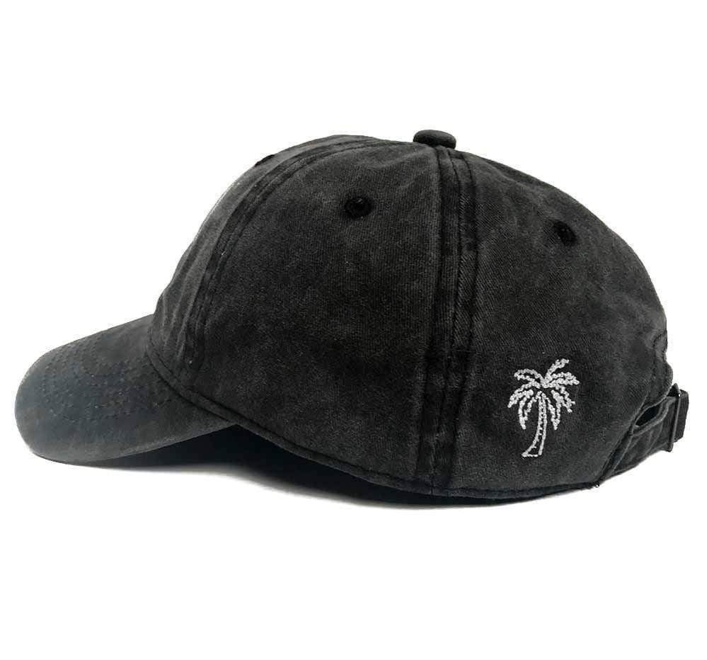 KITSCH Hair Accessories Baseball Hat- Palm Tree