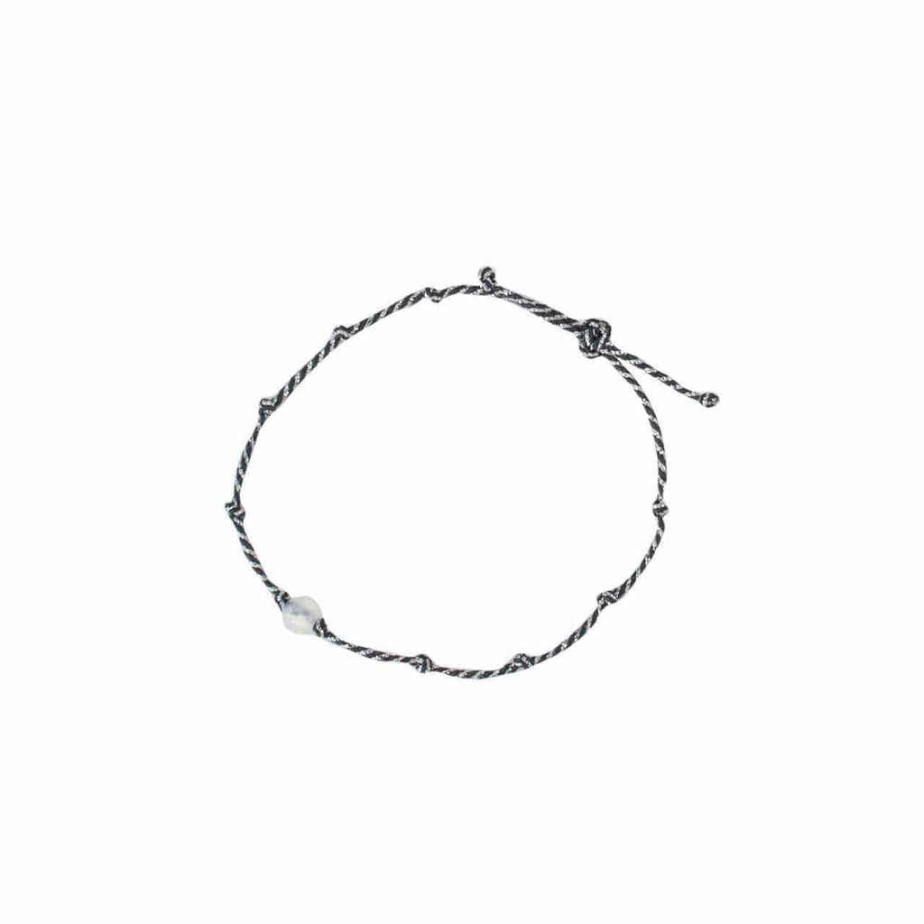 KITSCH Jewelry Guiding Gems String Bracelet - Moonstone