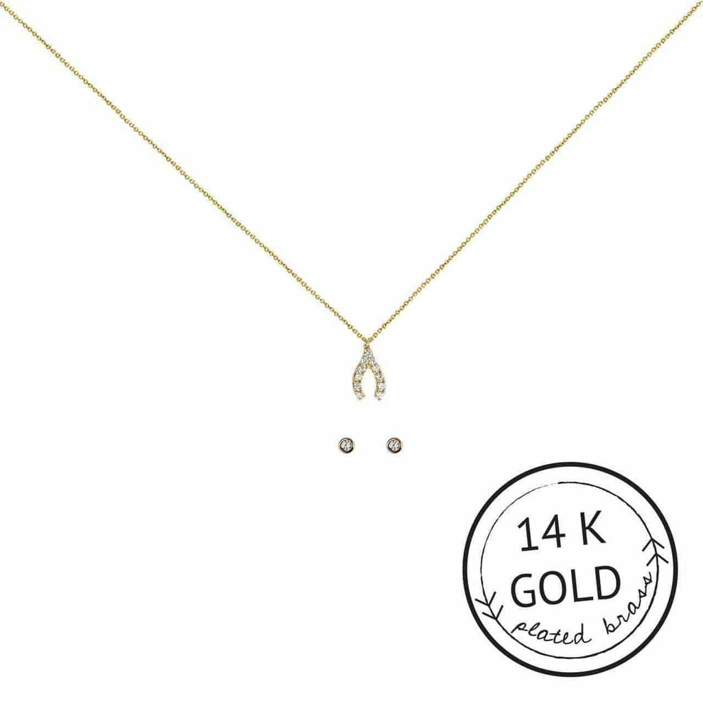 Make a Wish Necklace & Earring Set - KITSCH