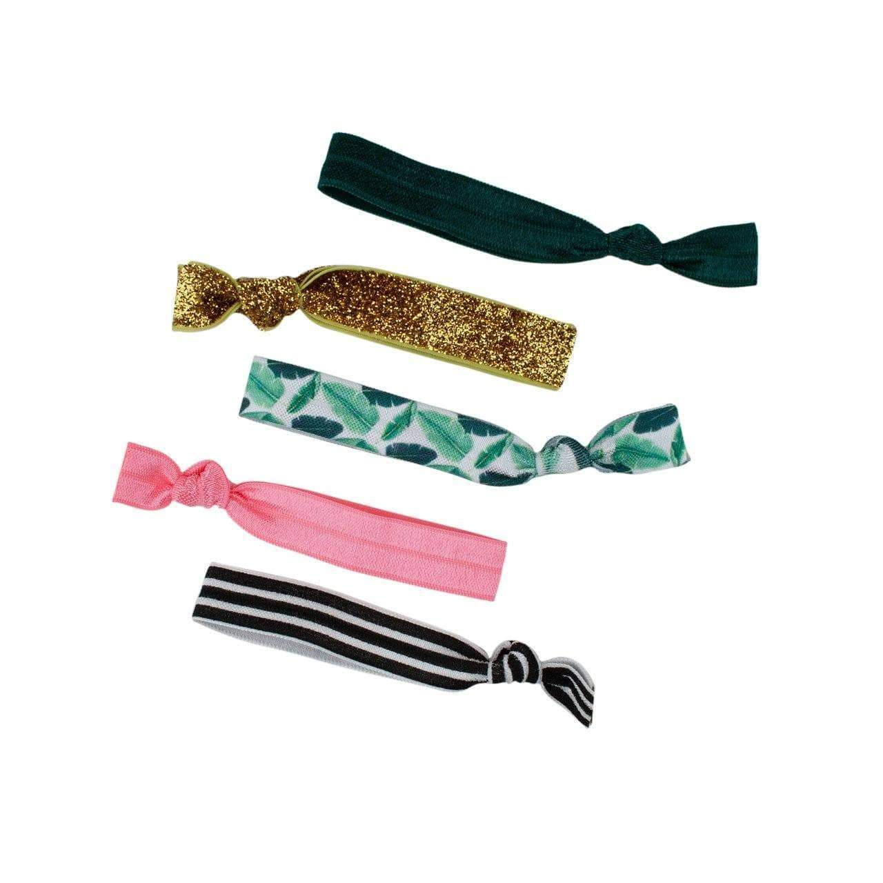 Palm Springs 5pc Hair Tie Set - KITSCH