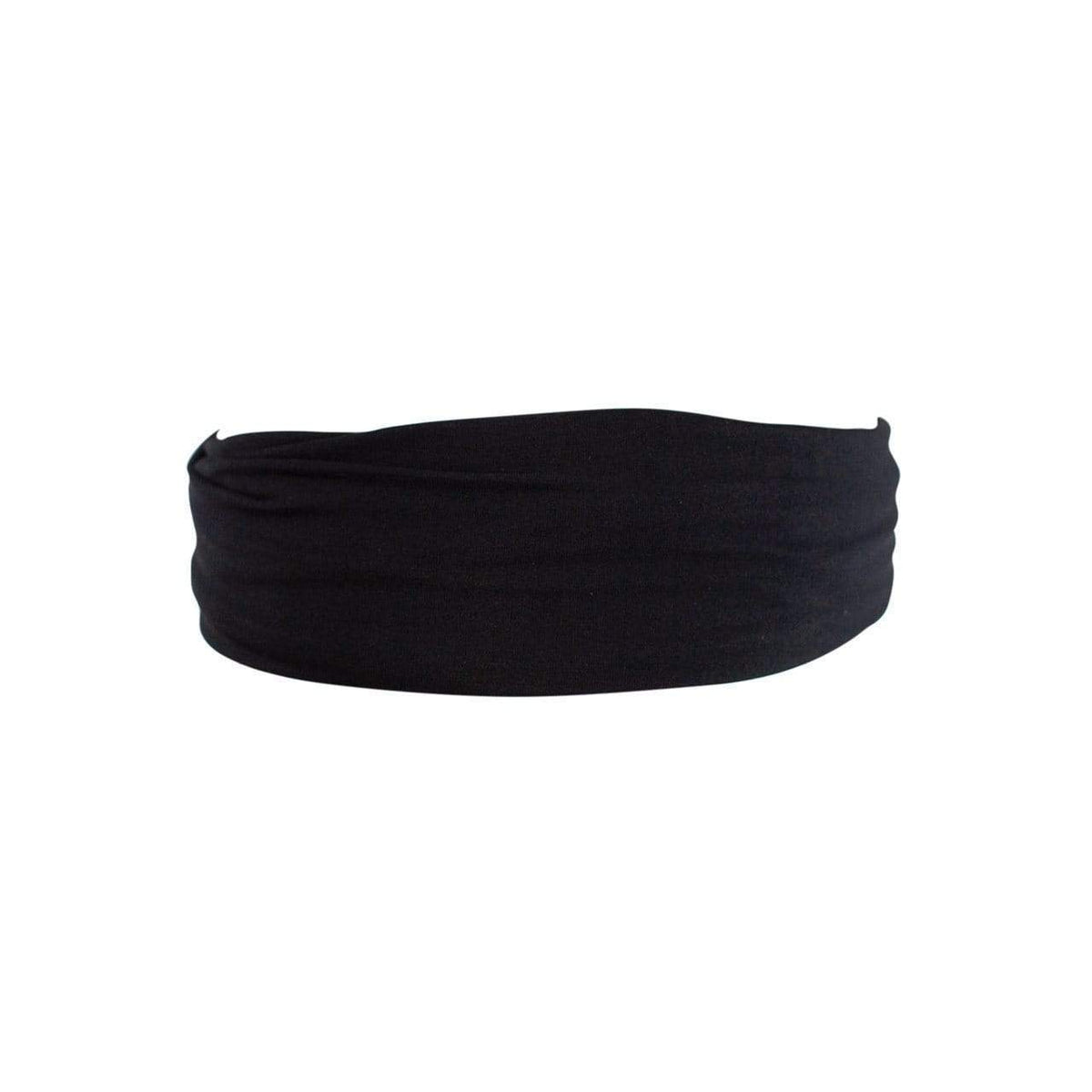 Silky Stretch Headband - Black - KITSCH
