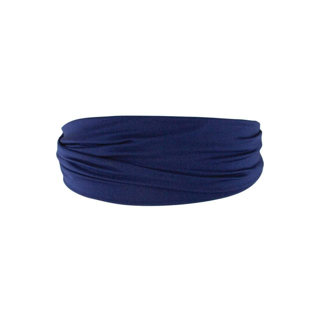 Silky Stretch Headband - Navy - KITSCH
