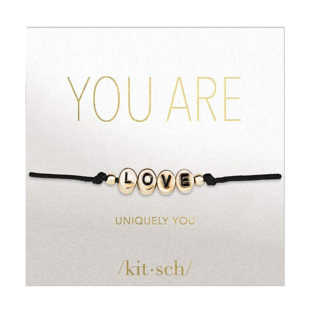 String Word Bracelets - Love - KITSCH