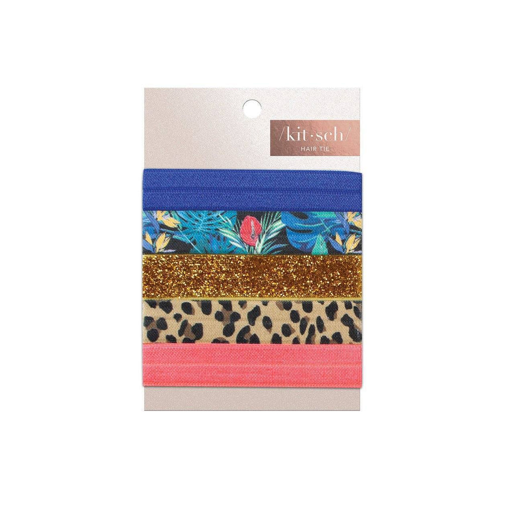 Tropics 5pc Hair Tie Set - KITSCH