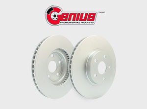 Genius Coated Brake Drums and Rotors