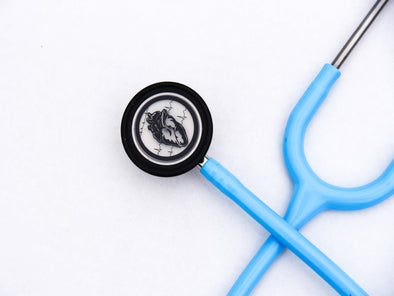 Heart+Sound Solutions Signature Series Stethoscope Blue X Stainless Steel - Heart+Sound Solutions