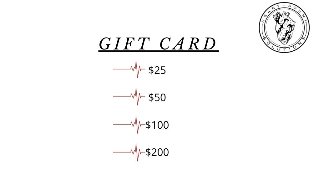 Heart+Sound Solutions Gift Card - Heart+Sound Solutions