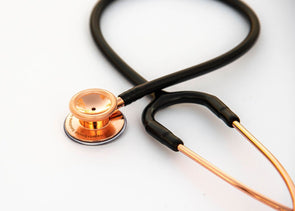 Heart+Sound Solutions Signature Series Stethoscope Rose Gold X Matte Black - Heart+Sound Solutions