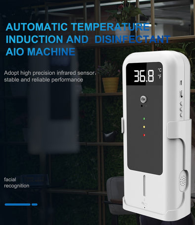 Automatic Temperature Induction and Disinfectant AIO Machine - Heart+Sound Solutions