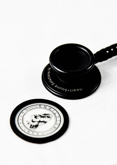 Heart+Sound Solutions Signature Series Stethoscope Black X Black - Heart+Sound Solutions