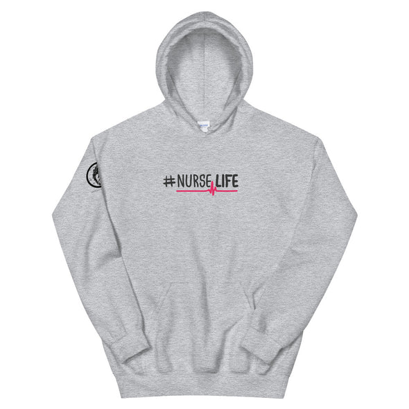 Heart+Sound Solutions #NurseLife Hoodie - Heart+Sound Solutions