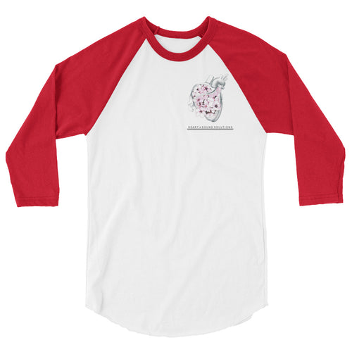 3/4 sleeve raglan shirt - Heart+Sound Solutions