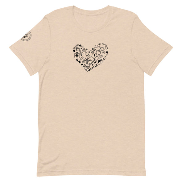 Heart Shaped Tee - Heart+Sound Solutions