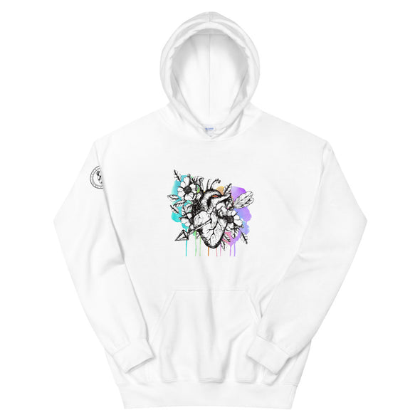 Heart+Sound Solutions Blooming Heart Hoodie - Heart+Sound Solutions