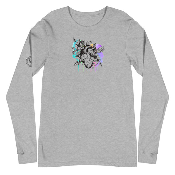 Heart+Sound Solutions Blooming Heart Long Sleeve - Heart+Sound Solutions