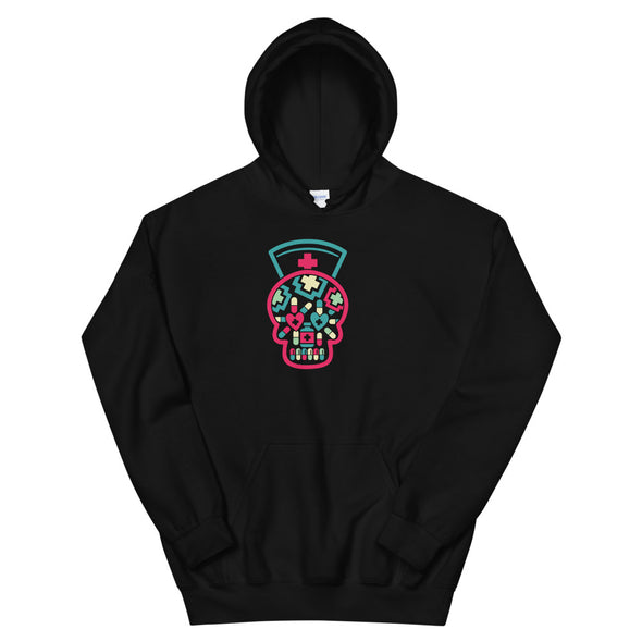 Heart+Sound Solutions Skull Hoodie - Heart+Sound Solutions