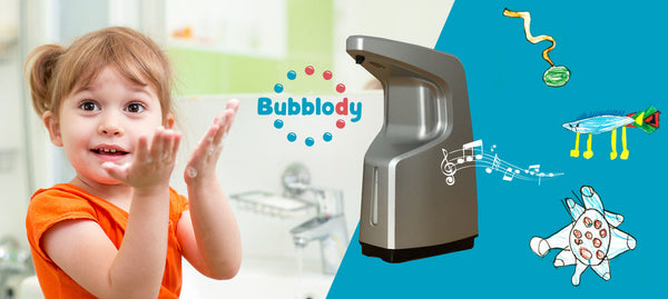 Bubblody - The automatic soap dispenser (with music timer)