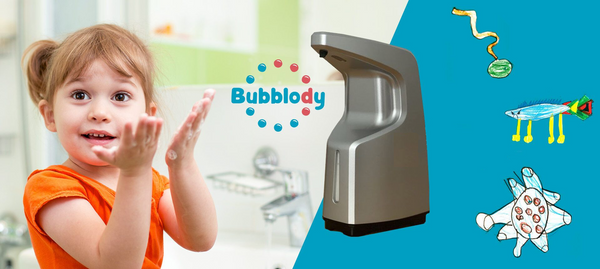 Bubblody - the automatic soap dispenser