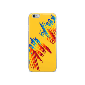 Electric Rainbow iPhone Case