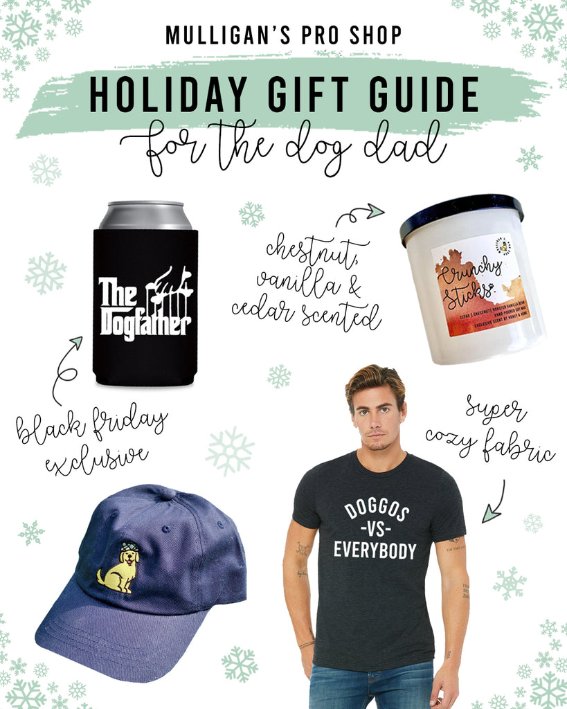 Holiday Gift Guide and Presents for Dog Dads