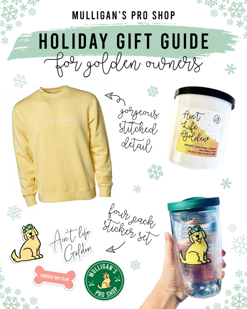 Holiday Gift Guide for Golden Retriever and Golden Doodle Moms