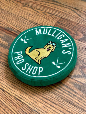 Mulligan's Pro Shop Waterproof Squeaker Dog Toy