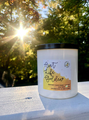 'Ain't Life Golden' 10 oz. Soy Candle