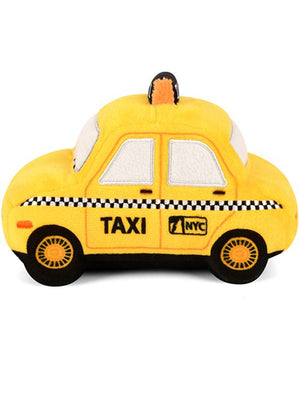New Yap City Taxi Dog Squeak Toy