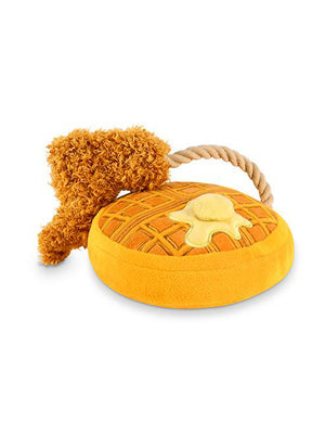 Chimken and Woofles Dog Squeak Toy