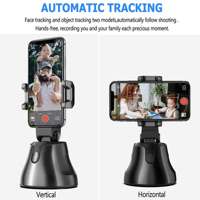 Smart 360°Rotation Auto Tracking Phone and Camera Holder