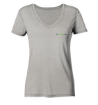 CAREApro basic  - Ladies Organic V-Neck Shirt - CAREApro