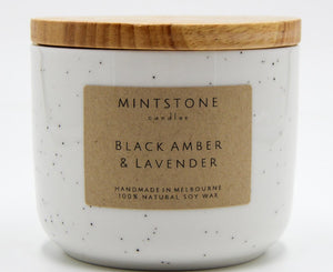 Calming and soothing - Black Amber & Lavender