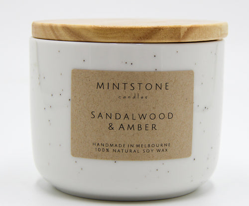 Woody and smooth! - Sandalwood & Amber