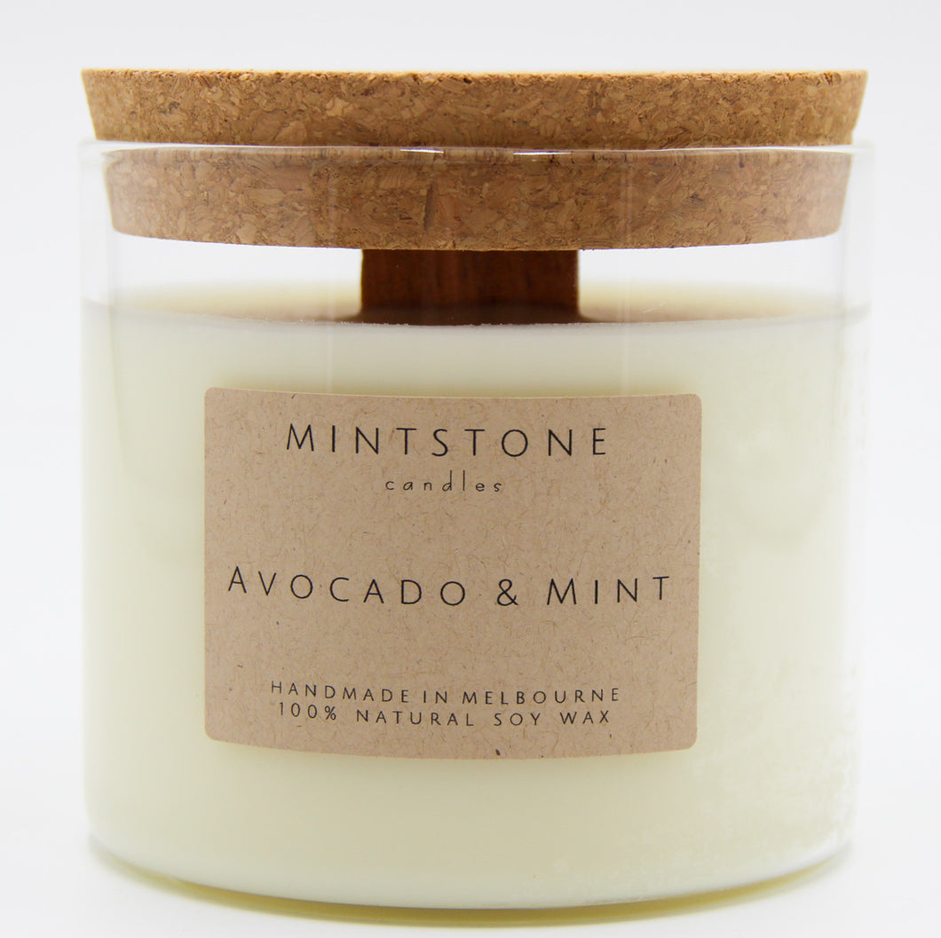 So pleasantly sweet and refreshing! - Avocado & Mint