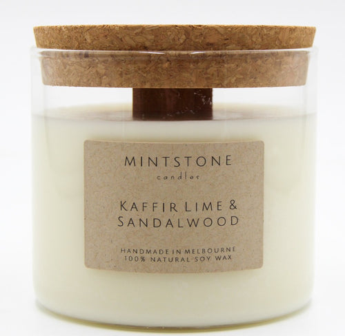 Missing a beach breeze? - Kaffir Lime & Sandalwood
