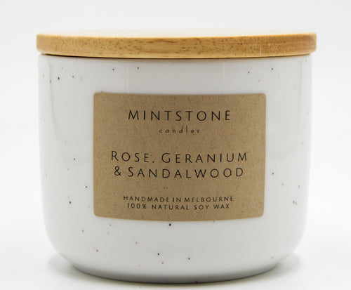 Floral and woody! - Rose, Geranium & Sandalwood