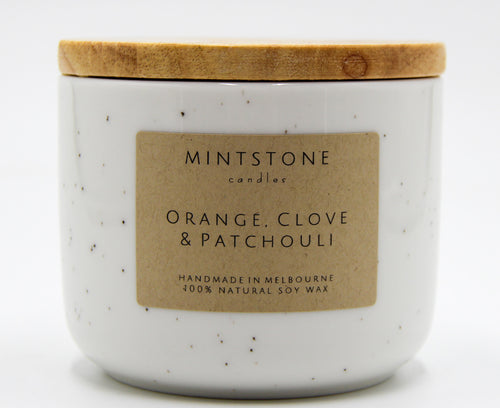 Spicy and musky! - Orange, Clove & Patchouli