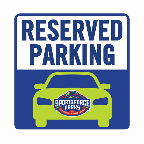 Reserved Event Parking