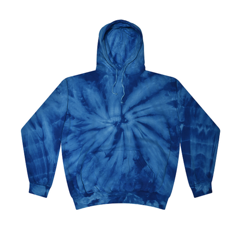 Youth Cotton Tie Dye Hoodie