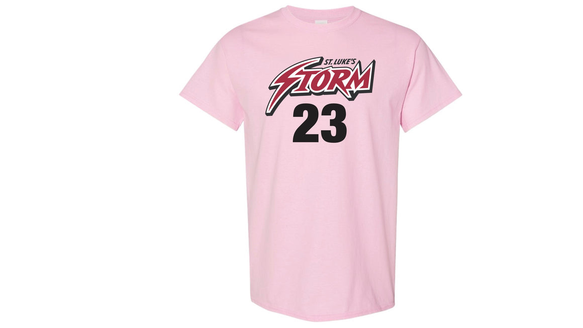 SAMPLE St Lukes Pink Out Game Jersey