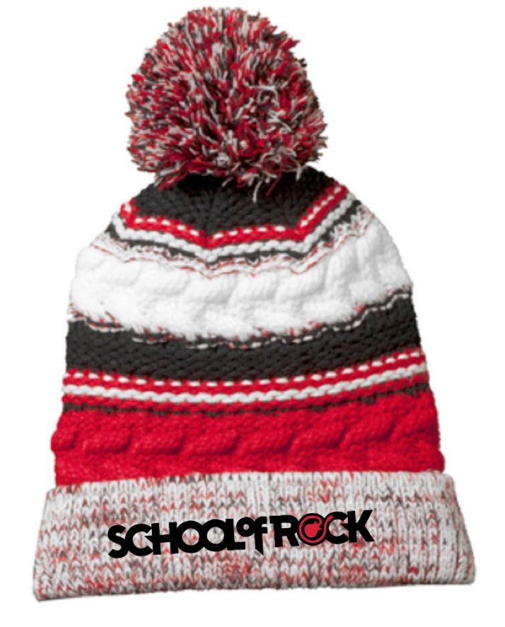 SAMPLE SOR Snow Hat with Pom Pom