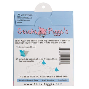 StickiPiggi's | Blue Double Sided Sticky Adhesives baby accessory StickiPiggi's™️ Infant Shoe Adhesives