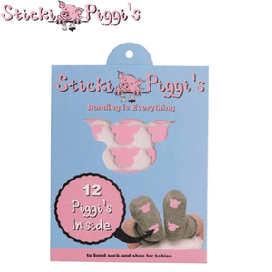StickiPiggi's | Pink-Double Sided Infant Shoe Adhesives baby accessory StickiPiggi's™️ Infant Shoe Adhesives