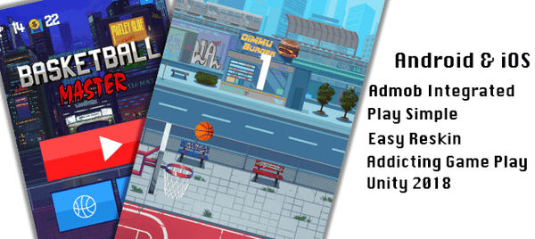 Tap Tap Basketball Unity Complete Project