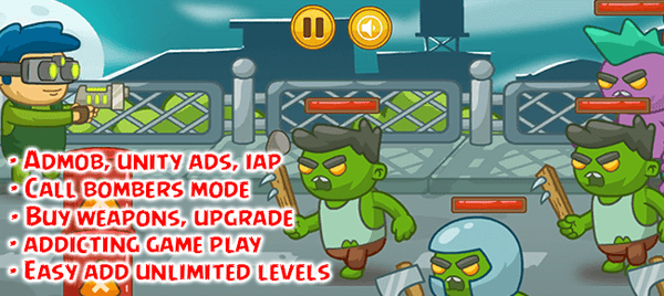Zombie Defense 2 : Survival Source Code