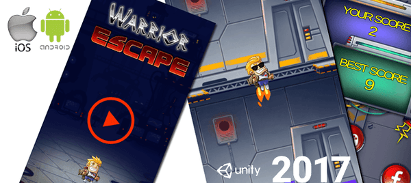 Warrior Escape Unity Full Source Code Project