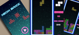 Classic Neon Tetris Unity Complete Project