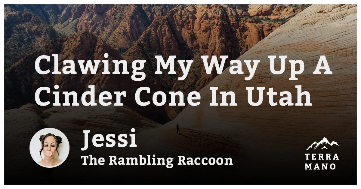 Jessi - Clawing My Way Up A Cinder Cone In Utah