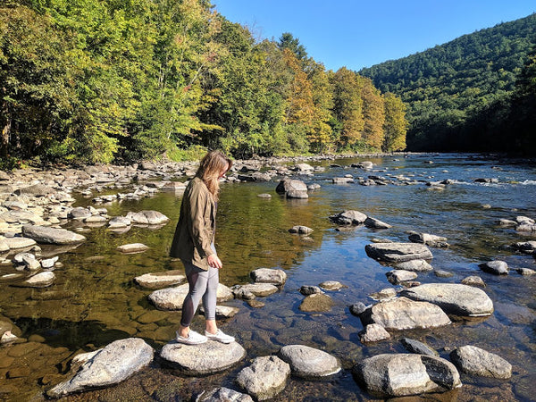 Hikes along the Housatonic River in Connecticut