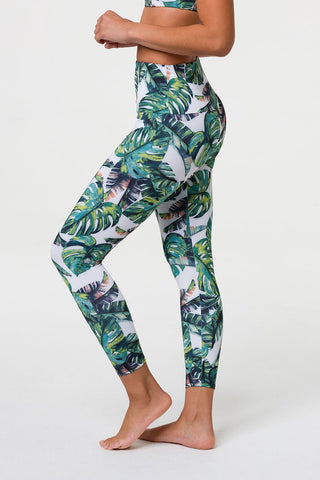 Tropics High Rise Midi Legging